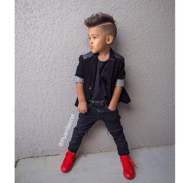 Jacket Kids Blazer Leather Leather Shoulders Swag Swag Jacket Blazer Jeans Ripped Jeans