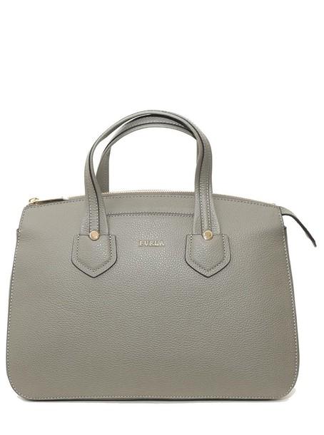 Furla satchel grey bag