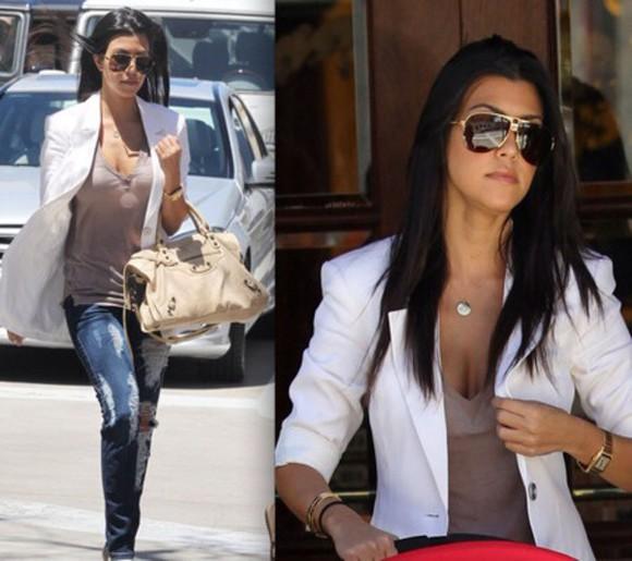 jacket white blazer swag