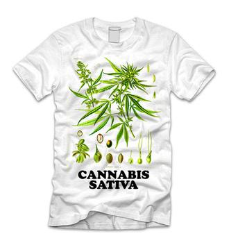 t-shirt weed pot marijuana canabis sativa