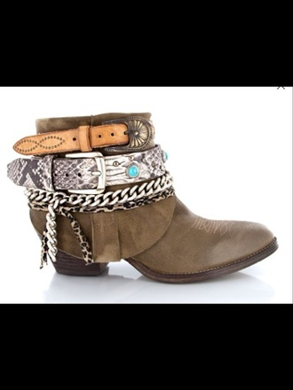 shoes santiags brown leather boots leather jewelled shoes ethnic ethnic shoes cool springsummer
