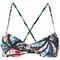 Printed bikini top - women - polyamide/spandex/elastane - 46, polyamide/spandex/elastane, lygia & nanny