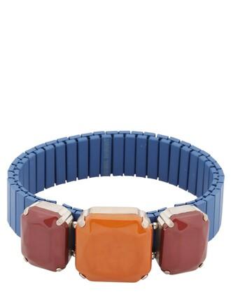blue orange red jewels