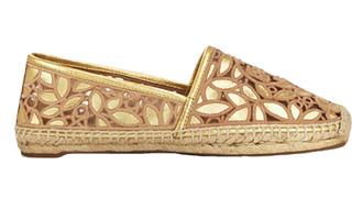 shoes gold shoes espadrilles