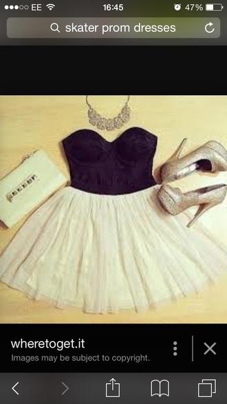 dress elise ryan cream dress black dress skater dress prom dress
