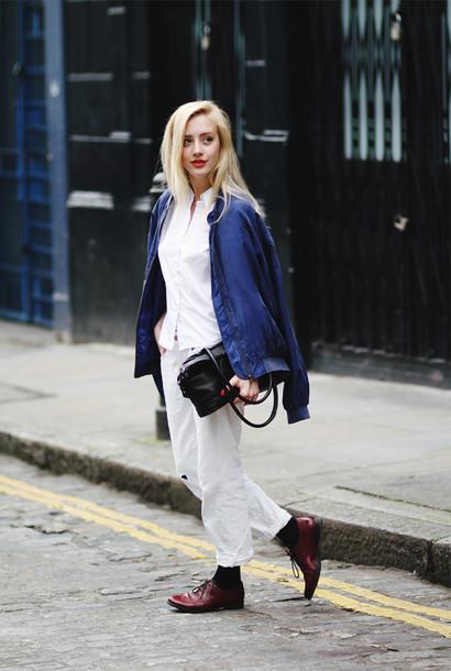 framboise fashion jacket shirt jeans bag