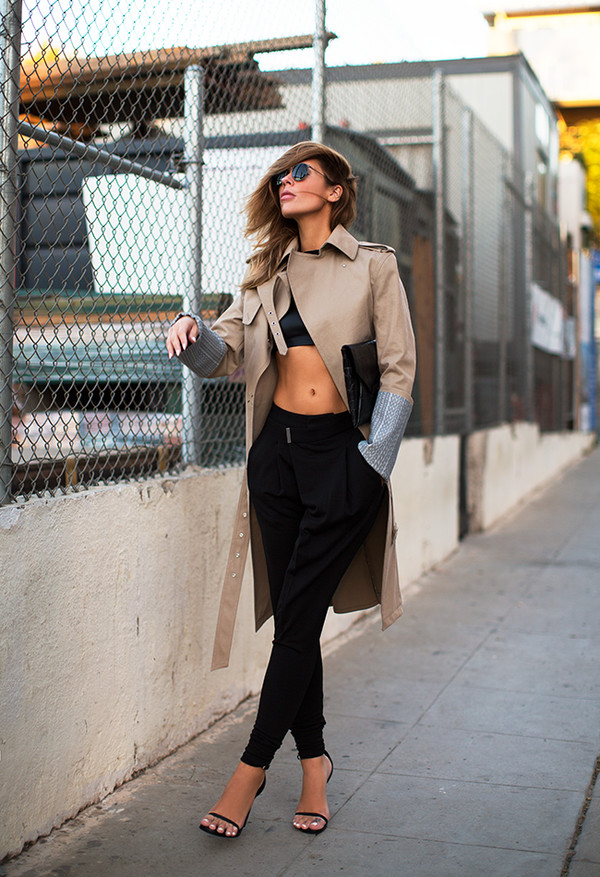 blogger sunglasses top bag