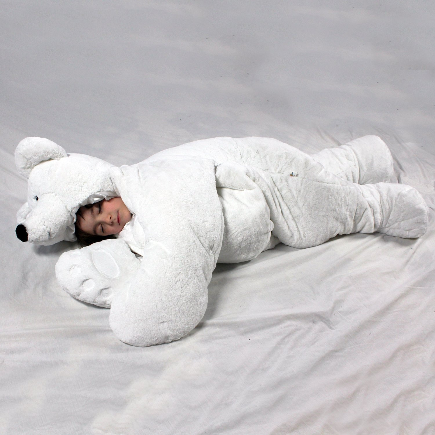 snoozzoo polar bear children 39 s stuffed animal