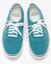 vans,sneakers,denim,lace up,blue,shoes,top