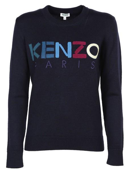 Kenzo jumper paris blue sweater