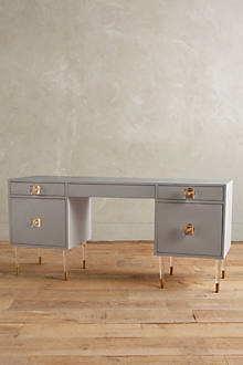 Lacquered Regency Desk