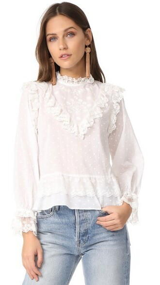 blouse pearl top