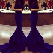 dress,long dress,fashion,slim dress,slim fit dress,wonderfull,mermaid,evening dress,royal blue dress,blue dress,prom dress,tights,fancy