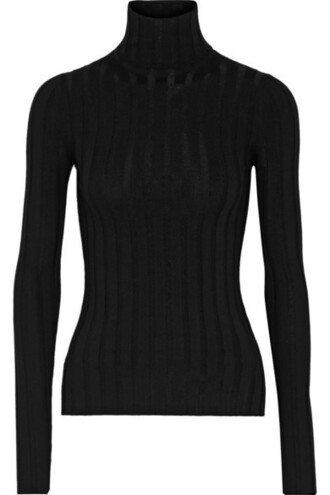 sweater turtleneck turtleneck sweater black wool