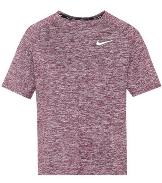 Nike t-shirt shirt t-shirt purple top