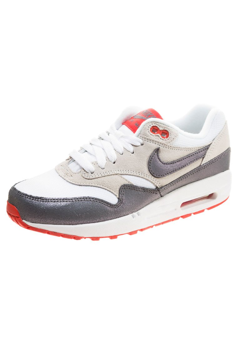 af9a16fe1a26 Nike Sportswear AIR MAX 1 ESSENTIAL - Sneaker - white grey red ...