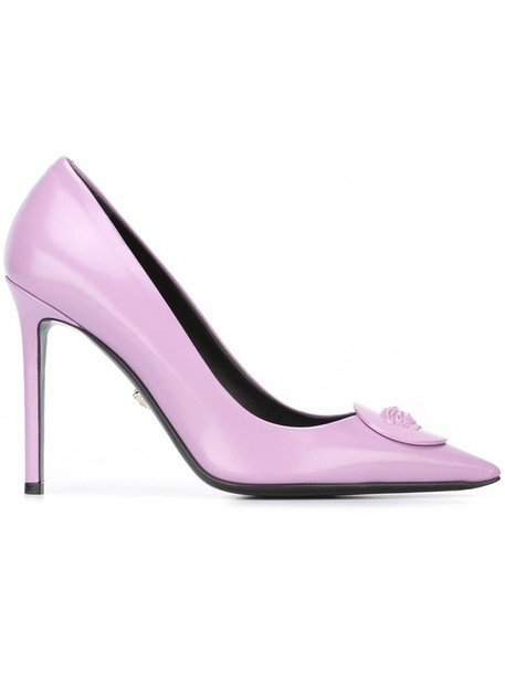 9d0202fb Versace 'Palazzo Medusa' pumps in pink / purple