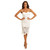 Angie Dress in White – Noodz Boutique