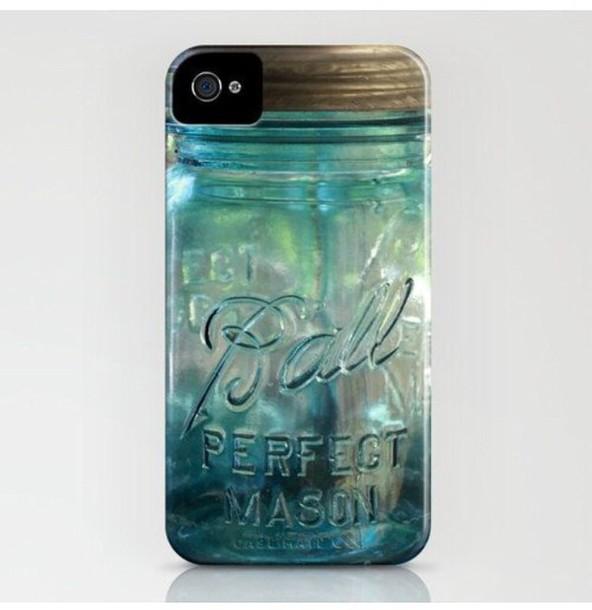 phone cover mason jar
