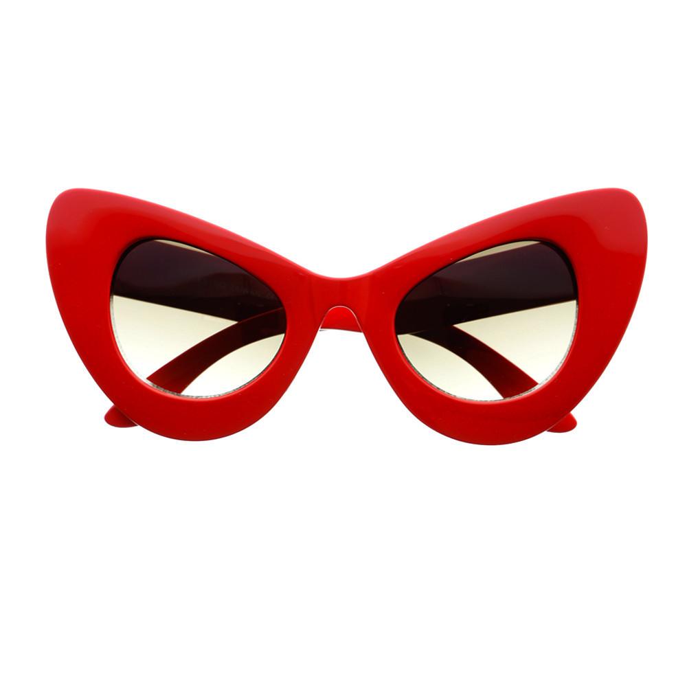 b831b7744a Extra Large Oversized Retro Designer Fashion Cat Eye Sunglasses C1170 –  FREYRS - Beautifully designed