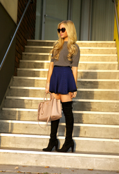 angel food,sweater,skirt,shoes,bag,sunglasses,jewels