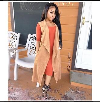 jacket cream tan boss cute black heels coat cute dress bodycon dress