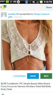 blouse,crochet crop top,lace crop top,off white blouse,jewels