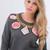 Jewels Embroided Sweatshirt – Glamzelle