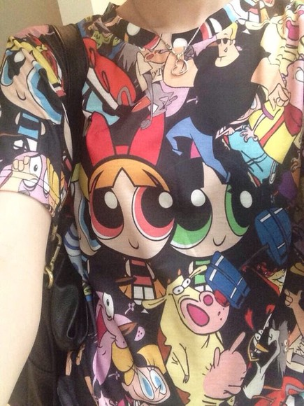 shirt cartoon hayley williams cartoon network paramore black cool paramore hayley collage