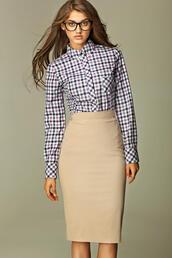 skirt,molly dresss,beige skirt,beige shoes,pencil skirt,office wear
