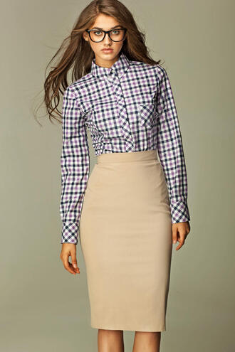 skirt molly dresss beige skirt beige shoes pencil skirt office wear