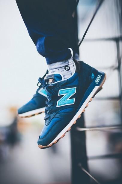 Shoes blue mens mens shoes menswear new balance clothes fashion men shoes shopping ...