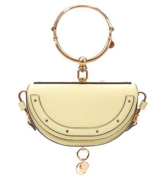 Chloe bag crossbody bag leather yellow