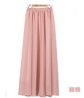 SK71 Celebrity Style Women's Pastel Flowy Volume Candy Coloured Pleated Maxi Long Skirts Plus Size 2014 New Free Drop Shipping-in Skirts from Apparel & Accessories on Aliexpress.com | Alibaba Group