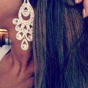 jewels,earrings,diamonds,silver,dangle earrings,sparkle,earings,princess,pageant,bijoux,boucle d'oreille,diamant?