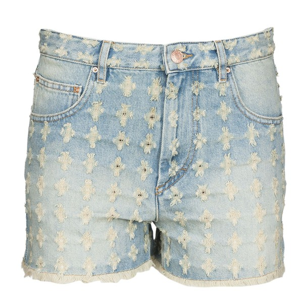 Isabel Marant etoile shorts denim shorts denim high blue