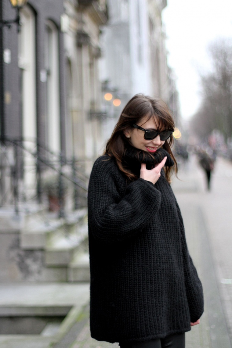 Cuir et laine | The Brunette