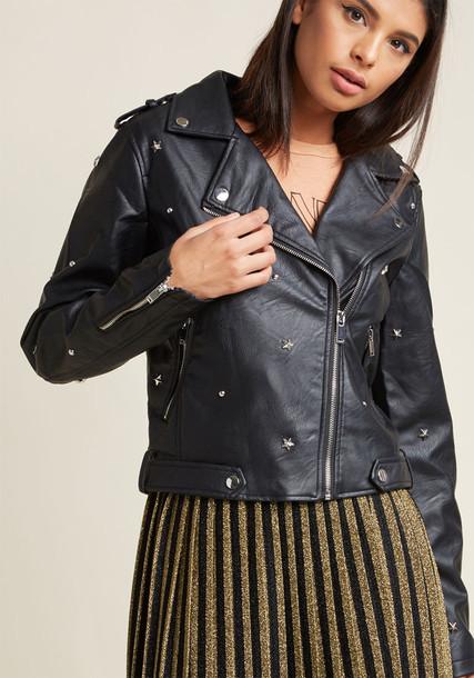 Modcloth jacket black