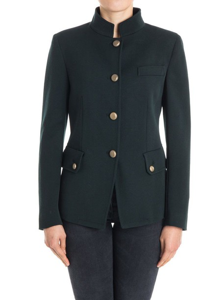 NEWYORKINDUSTRIE jacket wool dark green