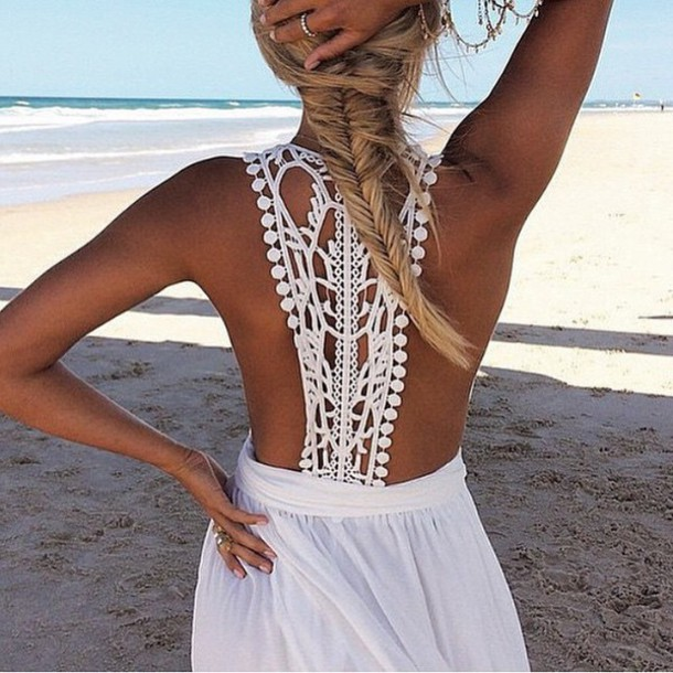 dress natalie rolt lace white summer dress