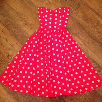 dress pin up rockabilly polka dots swing styleiconscloset