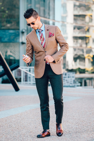what my boyfriend wore blogger sunglasses jacket shirt menswear mens blazer mens shoes mens pants