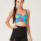 Motel bernice bralette in turquoise optical flower print - official motel rocks website. buy motel dresses and jordan jeans.