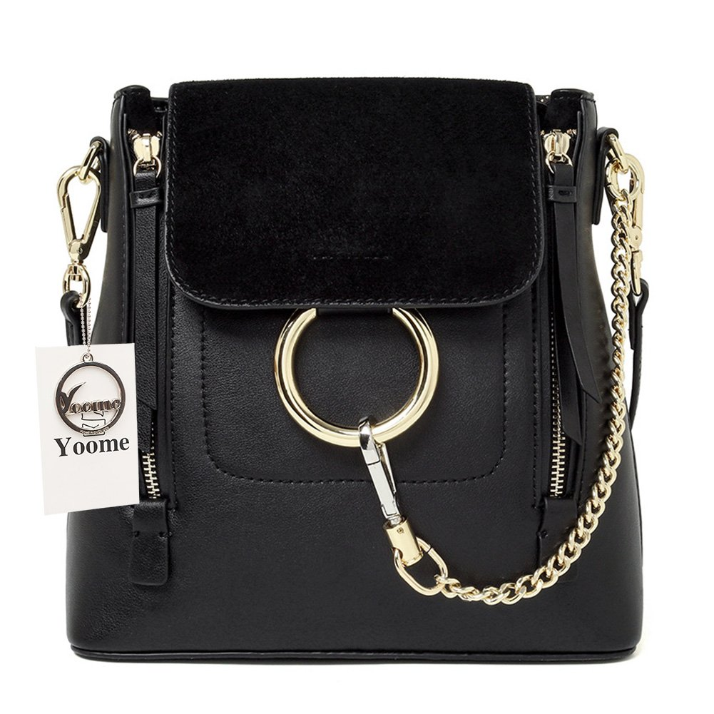 Amazon.com: Yoome Casual Women's Retro Circular Ring Chain Bag Fashion Dull Polish Makeup Pouch For Girls: Shoes