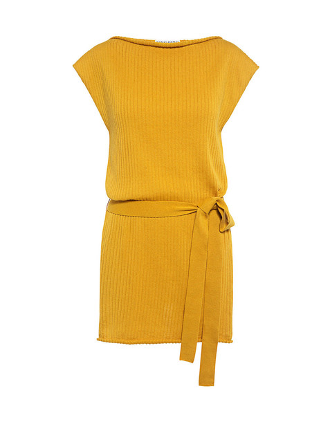 Finders Keepers Remember Me Knit Top Mustard