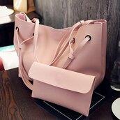 bag,girly,pink,cute,fashion,trendy,purse,light pink,rose wholesale