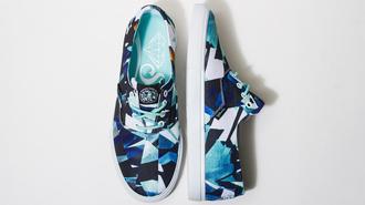 shoes diamond supply co. blue shoes mosaic