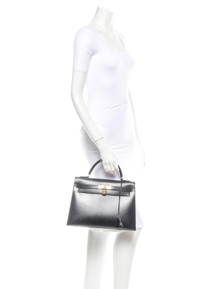 Hermès Box Sellier Kelly 32