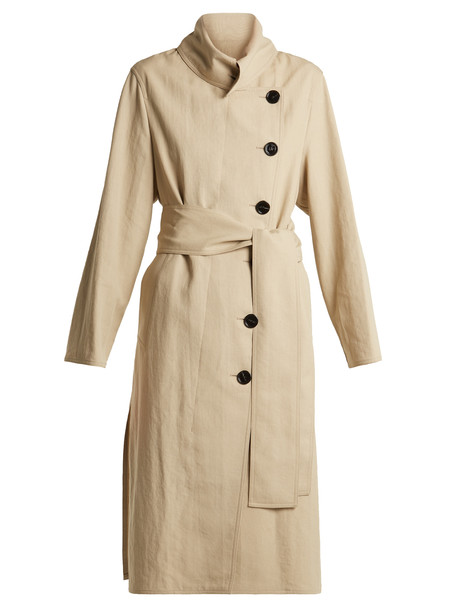 Acne Studios coat trench coat beige