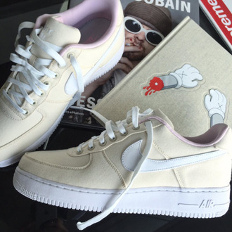 shoes nike nike shoes nike air nike air force 1 nike air force low top sneakers nude sneakers beige
